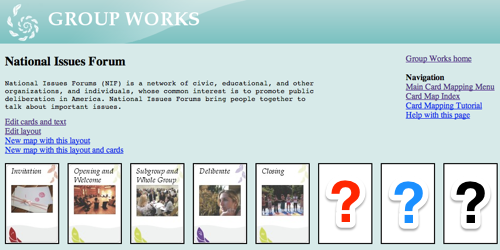 Groupworks card mapper tool